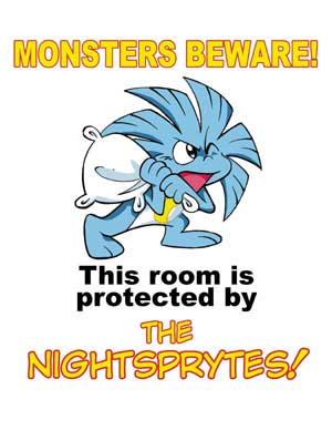 MONSTERS BEWARE!!!